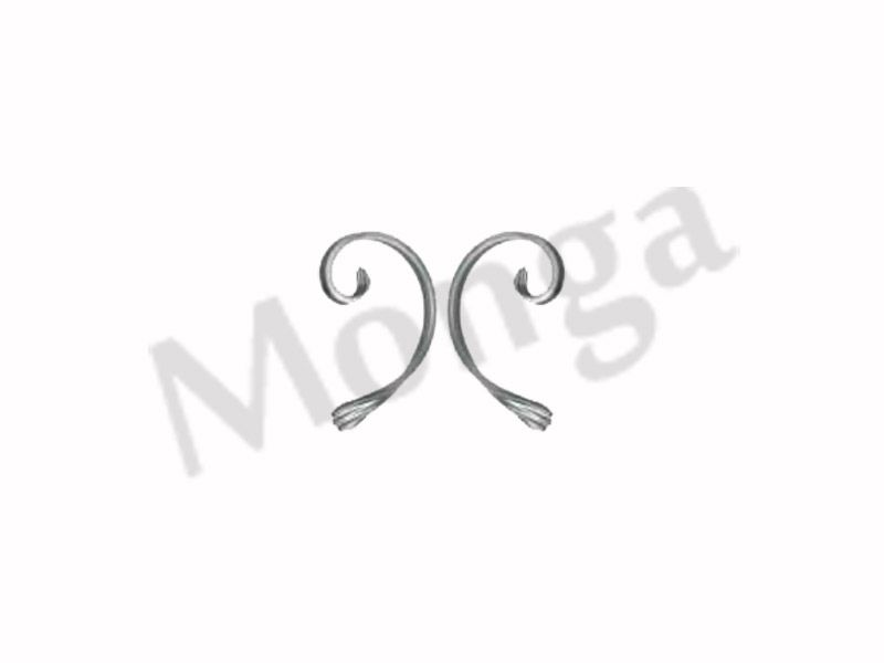 Ornamental Wrought Iron C Scrolls Manufacturer