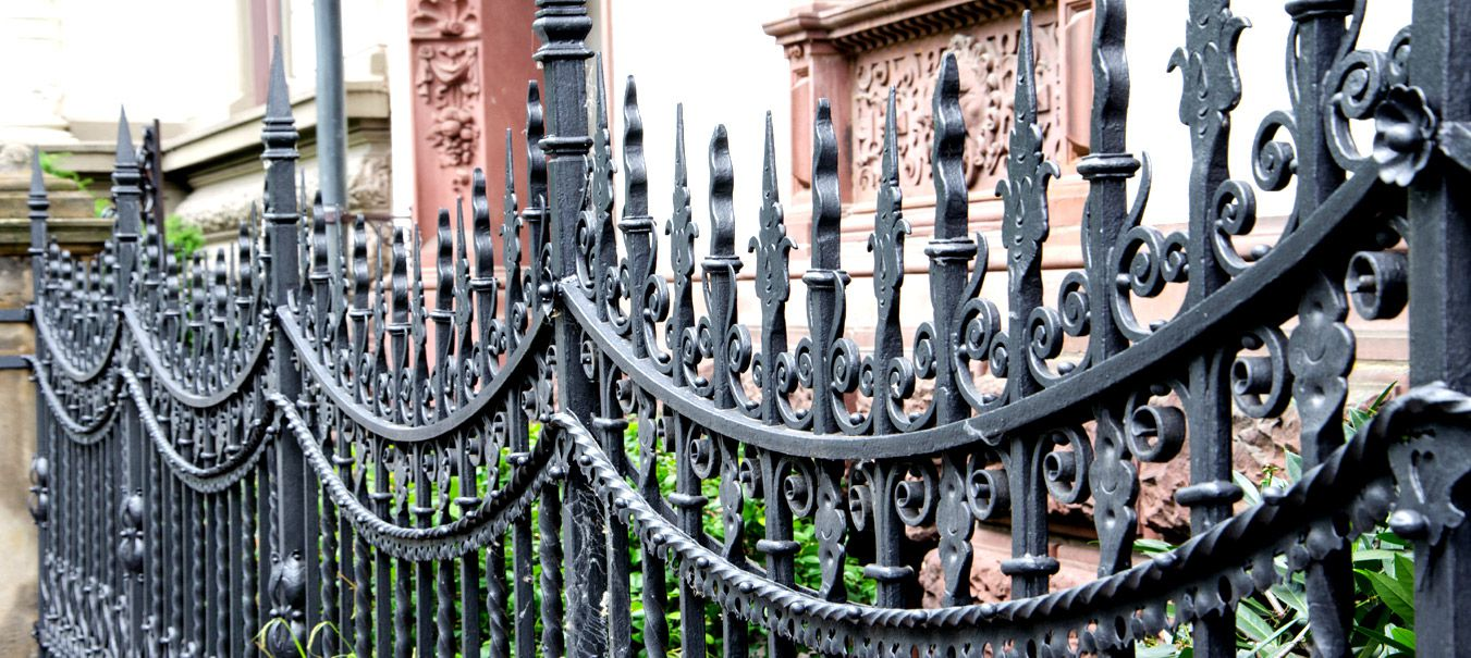 forged ornamental iron fence manufacturer exporter